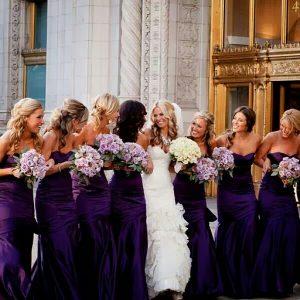 Bridesmaid Dresses Plum
