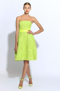 Bright Green Bridesmaid Dresses
