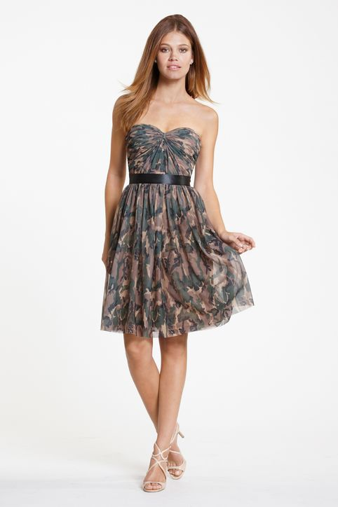 Camo Bridesmaid Dresses Dressed Up Girl