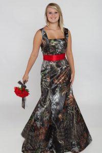 Camo Bridesmaids Dress