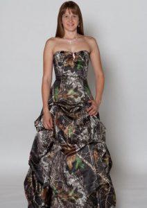 Camo Bridesmaids Dresses
