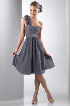 Grey Bridesmaid Dresses | Dressed Up Girl