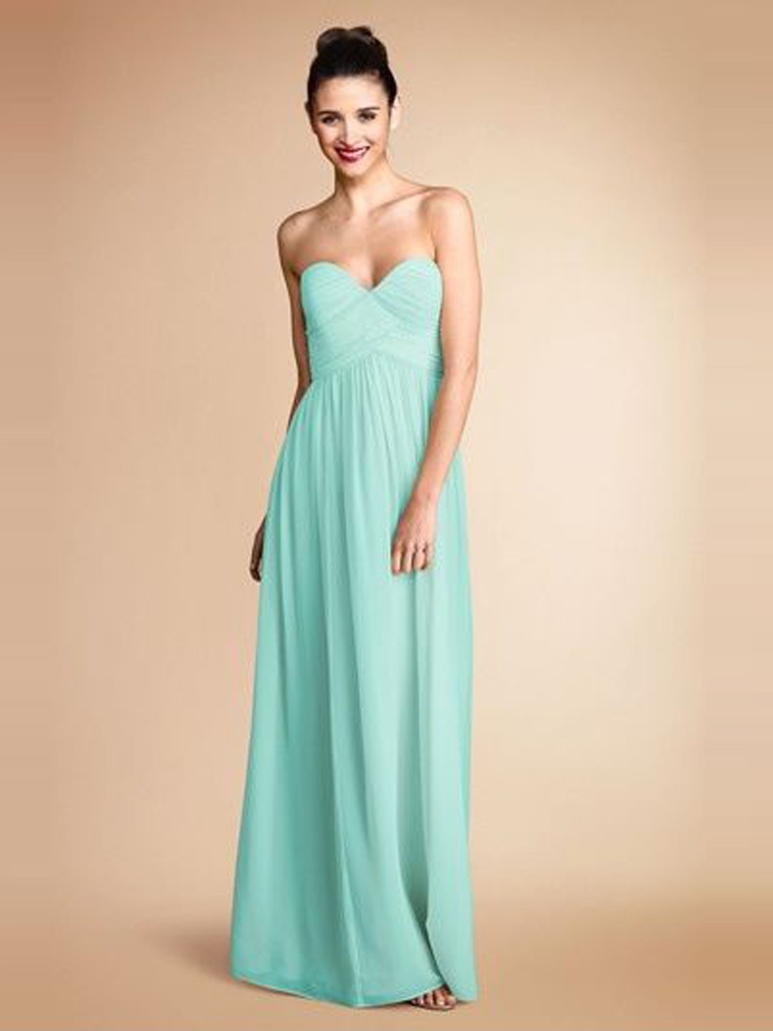 Chiffon Bridesmaid Dresses Dressed Up Girl