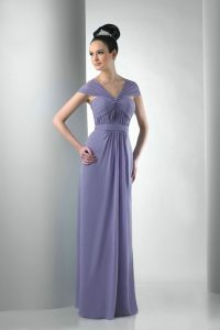 Chiffon Long Bridesmaid Dresses