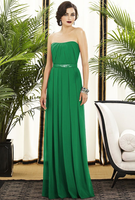 Green Bridesmaid Dresses | Dressed Up Girl