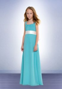 Junior Chiffon Bridesmaid Dresses