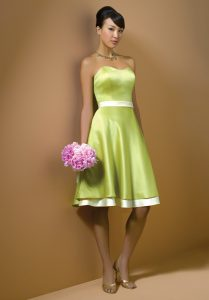Light Green Bridesmaid Dresses