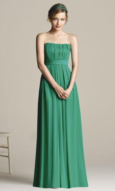 Chiffon Bridesmaid Dresses - Dressed Up Girl