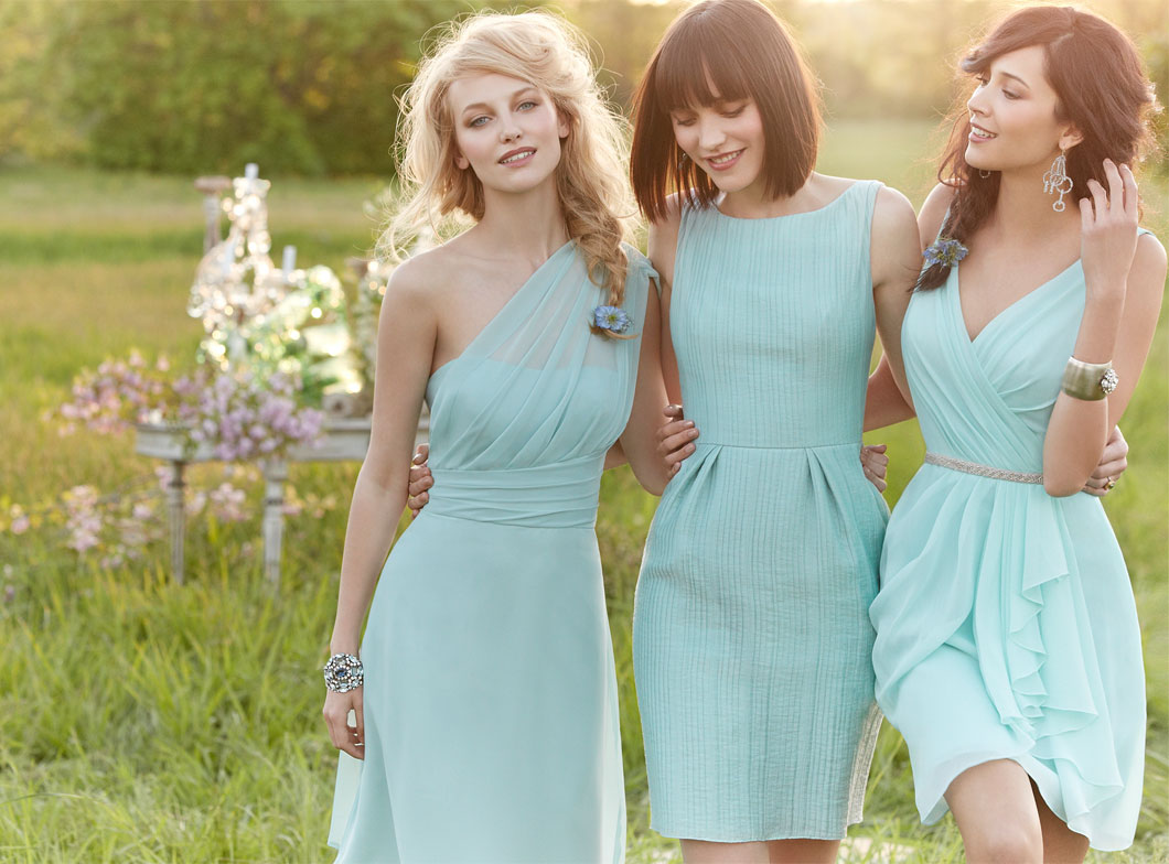 Mint Bridesmaid Dresses | Dressed Up Girl