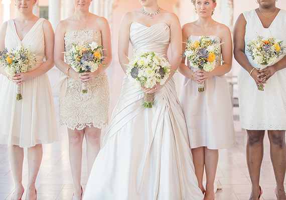 Off White Bridesmaid Dresses