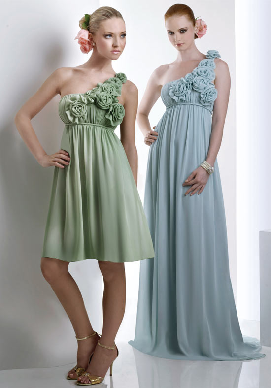 Pretty Chiffon Bridesmaid Dresses