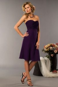 Plum Colored Bridesmaid Dresses