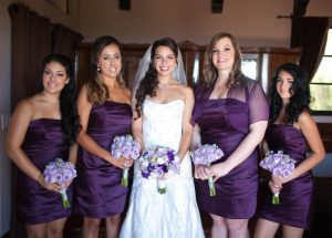 Plum Colored Bridesmaids Dresses