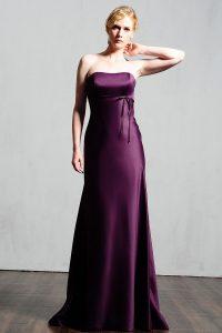 Plum Dresses for Bridesmaid