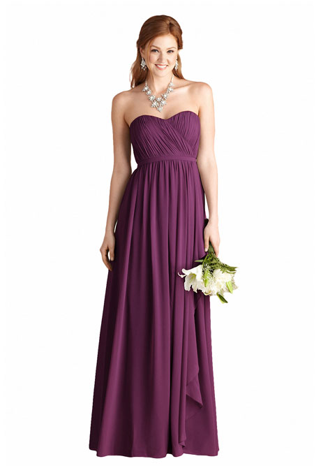 Plum Purple Bridesmaid Dresses