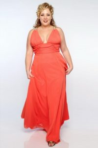 Plus Size Chiffon Bridesmaid Dresses