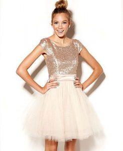 Sequin Junior Bridesmaid Dresses