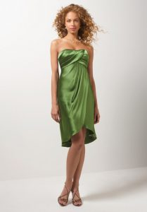 Short Green Bridesmaid Dresses