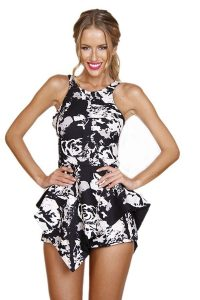 Black and White Romper Pictures