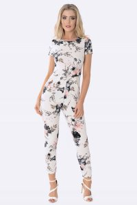 Floral Jumpsuit Womens