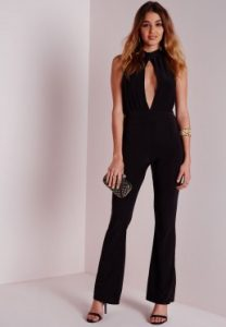 Formal Black Jumpsuit