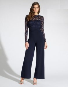 Formal Jumpsuits with Sleeves