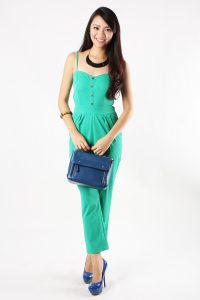 Green Jumpsuit Costume