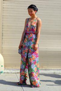 Jumpsuit Floral Print