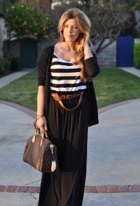 Long Black Maxi Skirts
