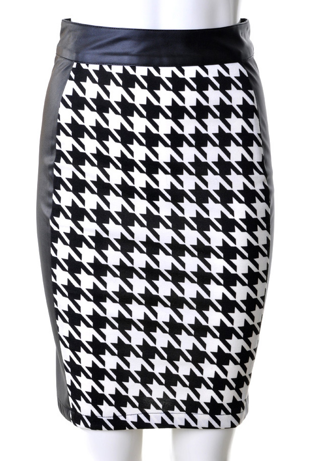 Black And White Skirts - Skirts