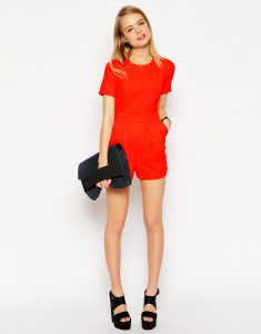 Short Sleeve Romper Images
