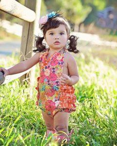 Toddler Girl Romper