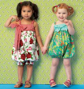 Toddler Girls Rompers