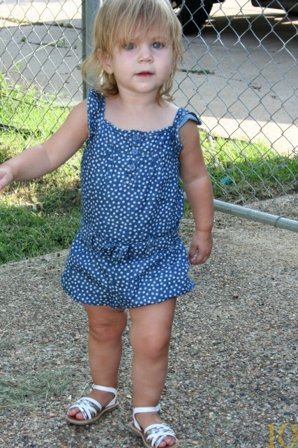 Toddler Rompers Dressed Up Girl