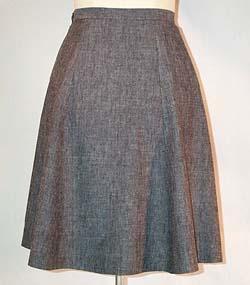 6 Gore Skirt