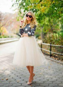 Ballerina Skirt Outfit