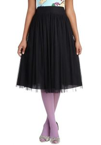 Black Ballerina Skirt