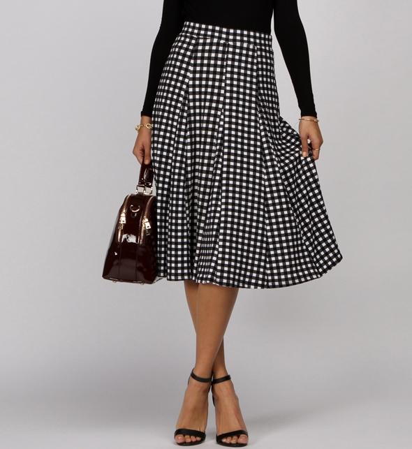 c60bc82f72ece6 Gingham Skirt | DressedUpGirl.com