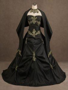 Black Gothic Gown