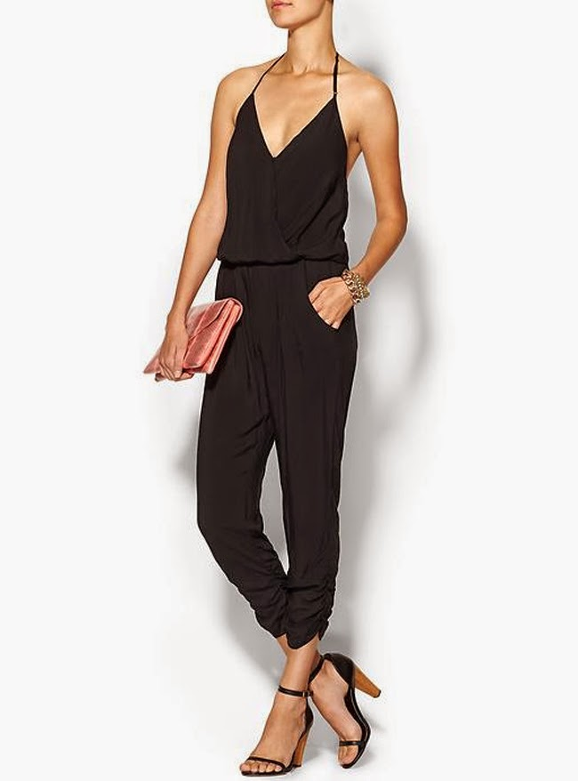 Black One Piece Jumpsuit