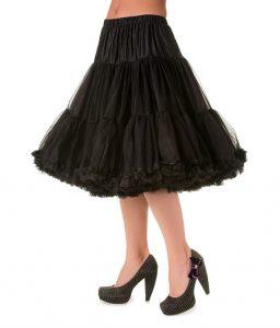 Black Petticoat Skirt