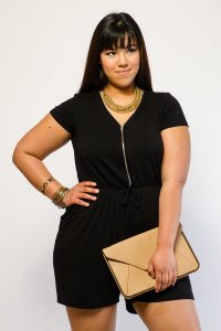 Black Romper Plus Size