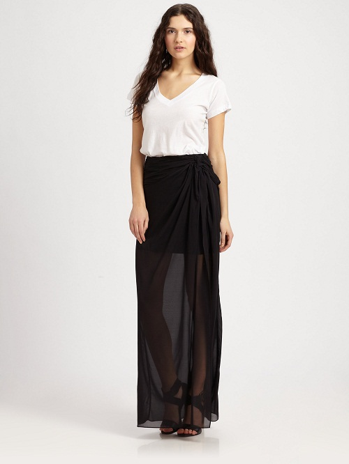 Sarong Skirt Dressed Up Girl