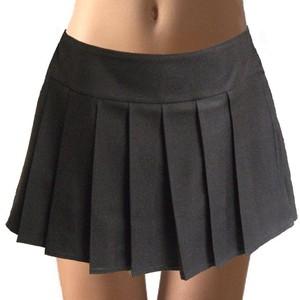 Black Schoolgirl Skirt