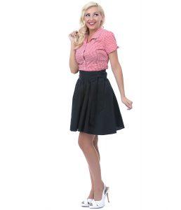 Black Swing Skirt