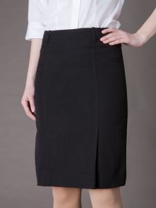 Black Uniform Skirt