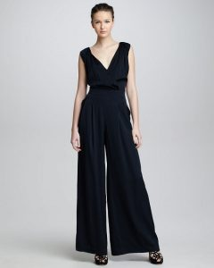 Black Wide Legged Jumpsuit
