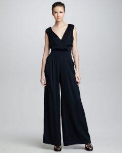 Black Wide Legged Jumpsuit