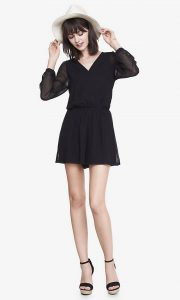 Black Womens Romper