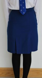 Blue Uniform Skirts